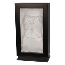 Black Wedding Dress Display - Wedding Gown Box - Deep Shadow Box - Custom Display Designs