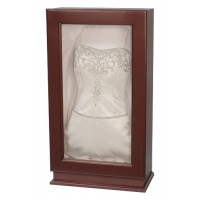 Cherry Wedding Dress Display - Wedding Gown Box - Deep Shadow Box - Custom Display Designs