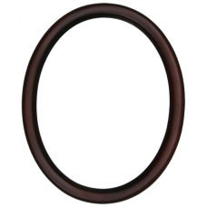100 Series Two Tone Mahogany 11x14 Oval Frame-Frames-Custom Framing Designs