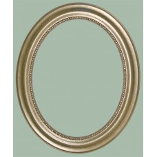 140 Series Silver 11x14 Oval Frame-Frames-Custom Framing Designs