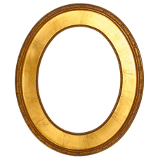494 Series Gold 11x14 Oval Frame-Frames-Custom Framing Designs