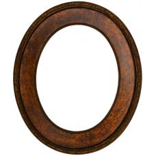 496 Series Copper 11x14 Oval Frame-Frames-Custom Framing Designs