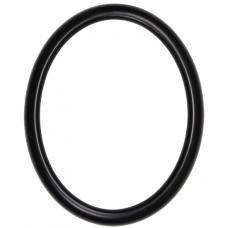 582 Series Black 8x10 Oval Frame-Frames-Custom Framing Designs