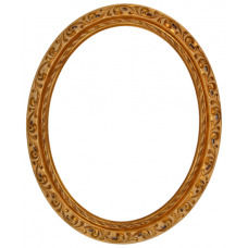 800 Series Gold Venetian 8x10 Oval Frame-Frames-Custom Framing Designs