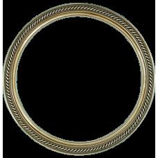 """Classic Series 15 Antique Silver 14"""" Round Frame-Frames-Custom Framing Designs"""