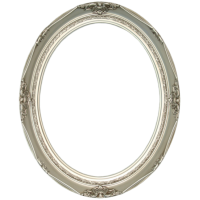 Classic Series 14 Antique Silver 11x14 Oval Frame-Frames-Custom Framing Designs