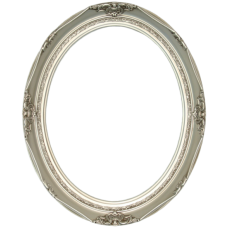 Classic Series 14 Antique Silver 20x24 Oval Frame-Frames-Custom Framing Designs