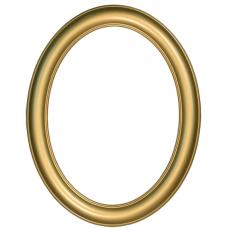 Premier Gold 11x14 Oval Frame-Frames-Custom Framing Designs
