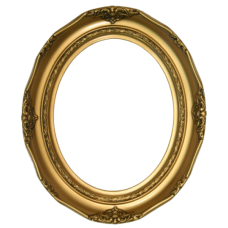 Classics Series 14 Antique Gold 8x10 Oval Frame-Frames-Custom Framing Designs