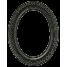 Classics Series 15 Rosewood 5x7 Oval Frame-Frames-Custom Framing Designs