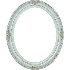 Classic Series 14 Antique White 20x24 Oval Frame-Frames-Custom Framing Designs