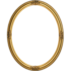Classic Series 17 Antique Gold 20x24 Oval Frame-Frames-Custom Framing Designs