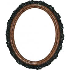 Classic Series 18 Burlwood 11x14 Oval Frame-Frames-Custom Framing Designs