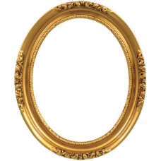 Classic Series 19 Antique Gold 20x24 Oval Frame-Frames-Custom Framing Designs