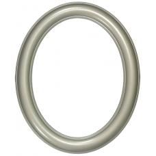 Premier Silver 11x14 Oval Frame-Frames-Custom Framing Designs