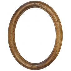 Premier Walnut 12x16 Oval Frame-Frames-Custom Framing Designs