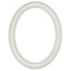 Premier Country White 16x20 Oval Frame-Frames-Custom Framing Designs
