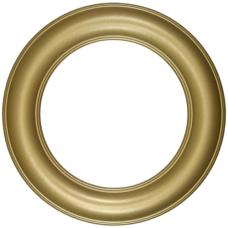 "Premier Gold 12"" Round Frame-Frames-Custom Framing Designs"