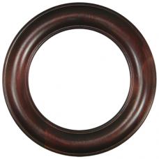"""Premier Rosewood 30"""" Round Frame-Frames-Custom Framing Designs"""