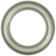 "Premier Silver 10"" Round Frame-Frames-Custom Framing Designs"