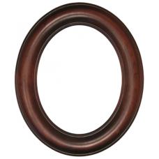 Premier Rosewood 8x10 Oval Frame-Frames-Custom Framing Designs