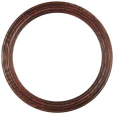 "Heirloom Rosewood 12"" Round Frame-Frames-Custom Framing Designs"