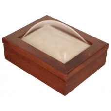 5x7 Keepsake Box w/ Cherry Stain - Keepsake Shadow Box - Deep Shadow Box - Custom Framing Designs, USA