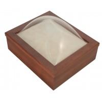 8x10 Keepsake Box w/ Cherry Stain - Keepsake Shadow Box - Deep Shadow Box - Custom Framing Designs, USA