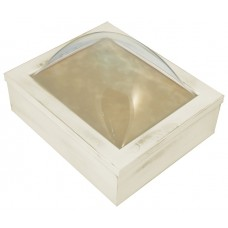 8x10 Keepsake Box w/ Rustic White Finish - Keepsake Shadow Box - Deep Shadow Box - Custom Framing Designs, USA