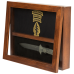 Open Yarborough Knife Box - Military Display Box - Deep Shadow Box - Custom Display Designs