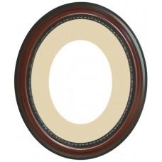 12x16 Oval Suede Mat-Frames