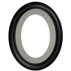 11x14 Oval Suede Mat-Frames