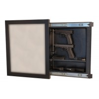 Recessed Hand Gun Case-Specialty Boxes-Custom Framing Designs