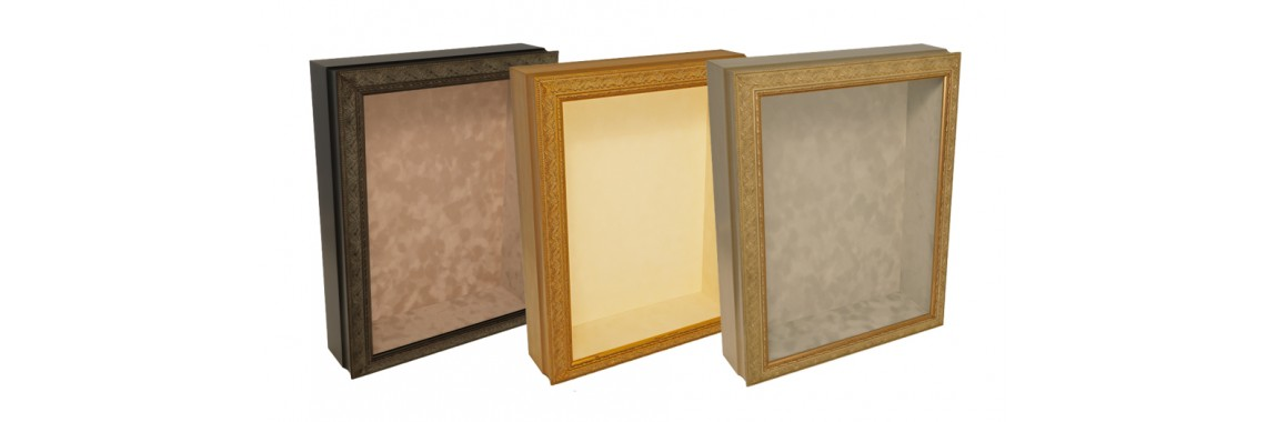 Ornate Style Shadow Boxes