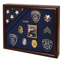 Shadow Box Frame - Military Commemorative Shadow Box - Deep Shadow Box - Custom Framing Designs, USA
