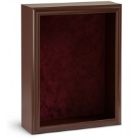 Shadow Box Frame - Cherry Shadow Box - Custom Framing Designs, USA