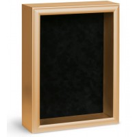 Shadow Box Frame - Gold Shadow Box - Custom Framing Designs, USA