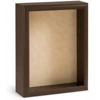 Shadow Box Frame - Mocha Shadow Box - Custom Framing Designs, USA