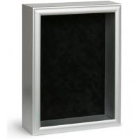 Shadow Box Frame - Silver Shadow Box - Custom Framing Designs, USA