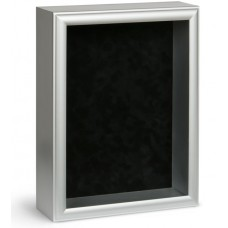 Shadow Box Frame - Silver Shadow Box - Custom Framing Designs, USA