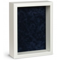 Shadow Box Frame - White Shadow Box - Custom Framing Designs, USA