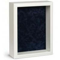 Shadow Box Frame - White Shadow Box - Custom Framing Designs, USA