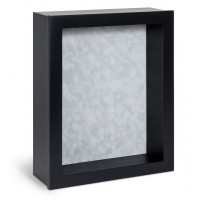 Shadow Box Frame - Black Shadow Box - Contemporary Deep Shadow Box - Custom Framing Designs, USA