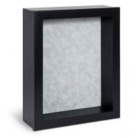 Shadow Box Frame - Black Shadow Box - Contemporary Deep Shadow Box - Custom Framing Designs, USA