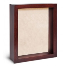 Shadow Box Frame - Cherry Shadow Box - Contemporary Deep Shadow Box - Custom Framing Designs, USA