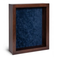 Shadow Box Frame - Chestnut Shadow Box - Contemporary Deep Shadow Box - Custom Framing Designs, USA