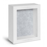 Shadow Box Frame - Country White Shadow Box - Contemporary Deep Shadow Box - Custom Framing Designs, USA