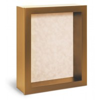 Shadow Box Frame - Gold Shadow Box - Contemporary Deep Shadow Box - Custom Framing Designs, USA