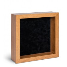 Shadow Box Frame - Light Oak Shadow Box - Contemporary Deep Shadow Box - Custom Framing Designs, USA