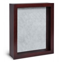 Shadow Box Frame - Rosewood Shadow Box - Contemporary Deep Shadow Box - Custom Framing Designs, USA